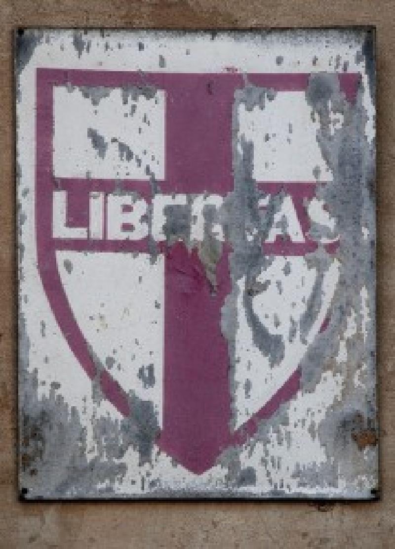 Das alte Symbol der italienischen Democrazia Cristiana